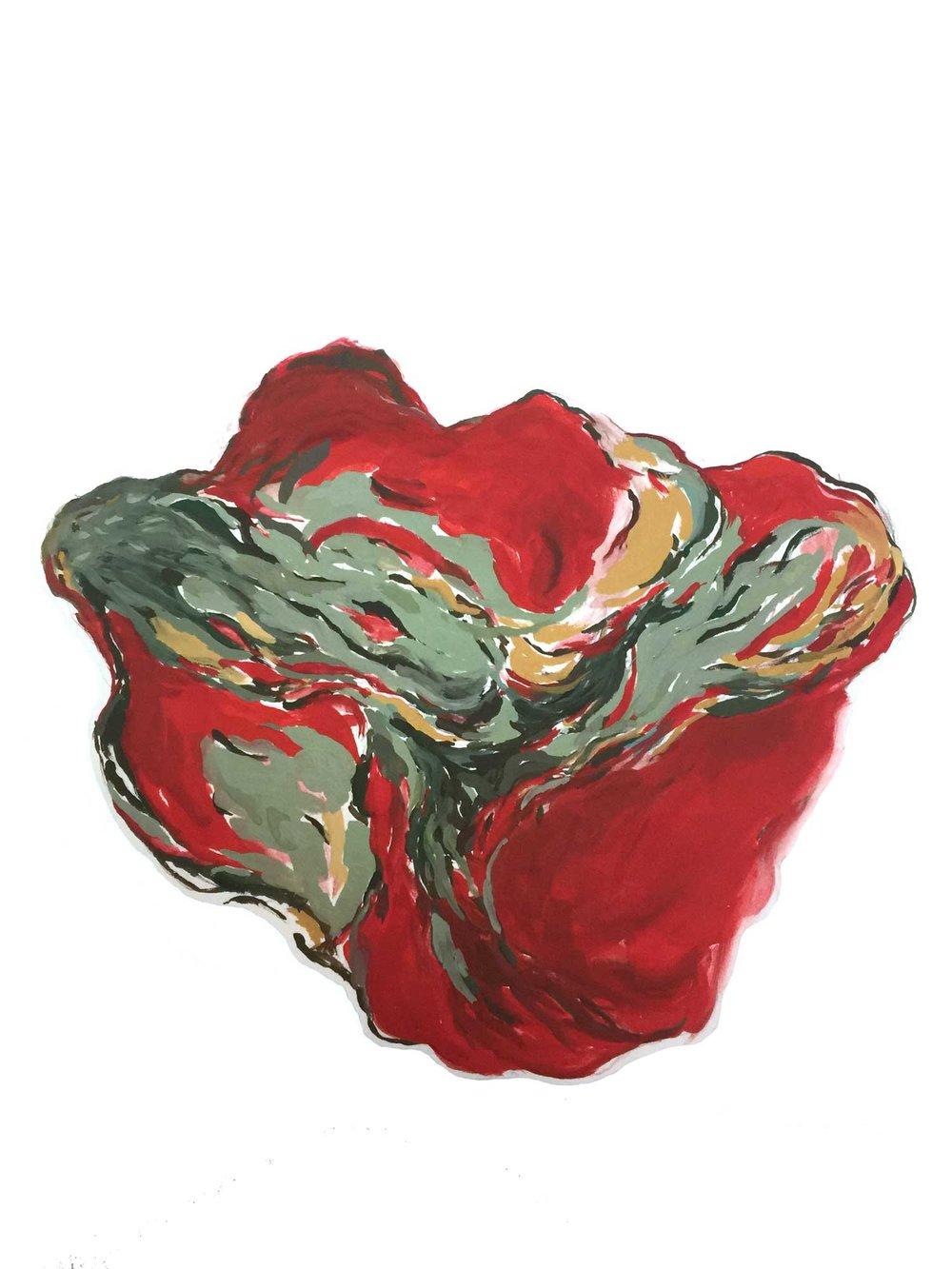 Untitled (Red Basket)