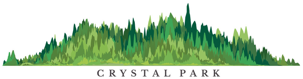 Chiehping Chen | 陳芥平    Logo of Crystal Park, designed by Chiehping Chen