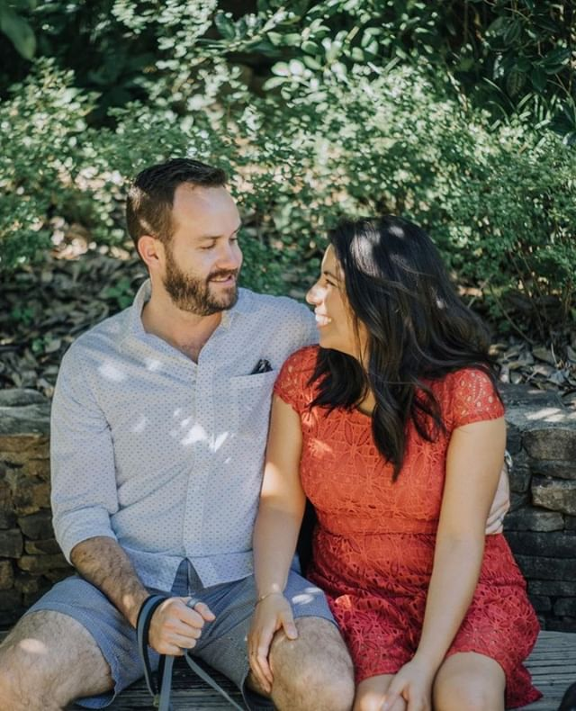 What are the odds?⁣ ⁣ Out of all the dating sites, we chose @match⁣ ⁣ You had just moved back from AZ that summer — I decided to move to VA that year.⁣ ⁣ We never did online dating before but decided to give it a shot.⁣ ⁣ On our first date we talked about things you don't talk *usually* talk about on your first date; sex, drugs, education, politics, and religion.⁣ ⁣ We got married within a year. ⁣ ⁣ And I would do it over and over again.⁣ 📸by @ronyrivera.co