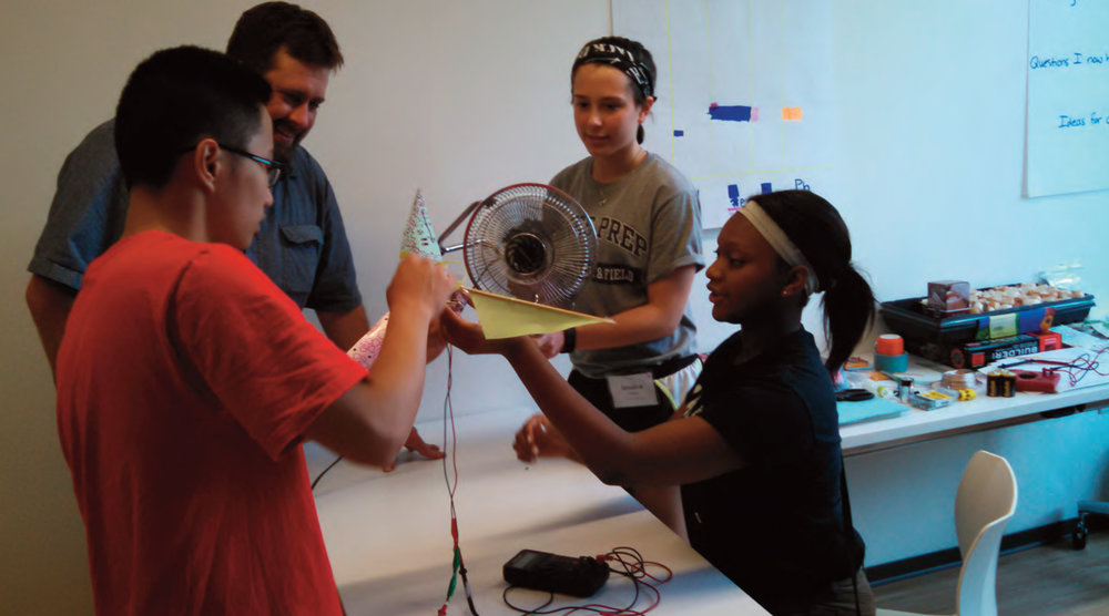 Hands-on energy education.