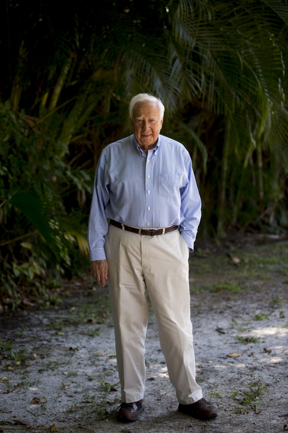 Pulitzer prize winning author David McCullough made a special guest appearance at the Naples Jazz Society's 21st annual celebration Saturday, March 11, 2017 in Naples.