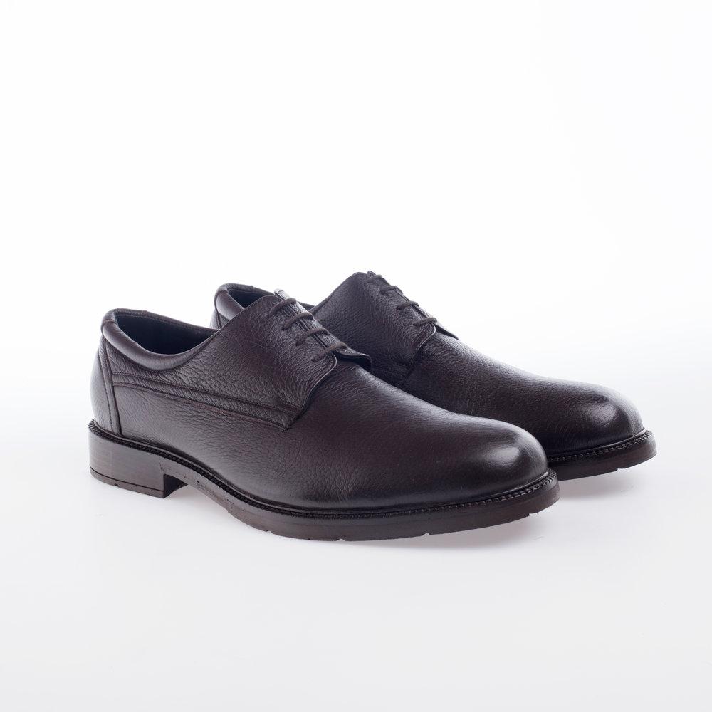 5204 Moka  $1,399 MX  Zapato Derby liso, Piel Venado con textura, Alto Confort.