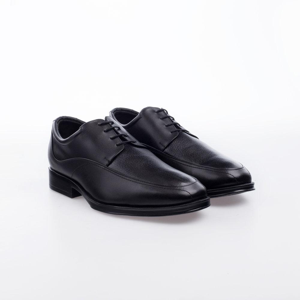 1701 Negro  $999 MX  Zapato Derby,Alto Confort, doble plantilla anatómica.