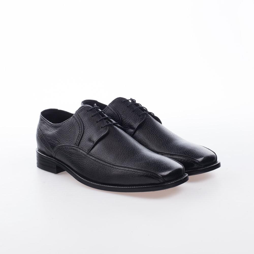 8048 Negro $1,399 MX Zapato Derby, Piel Venado.