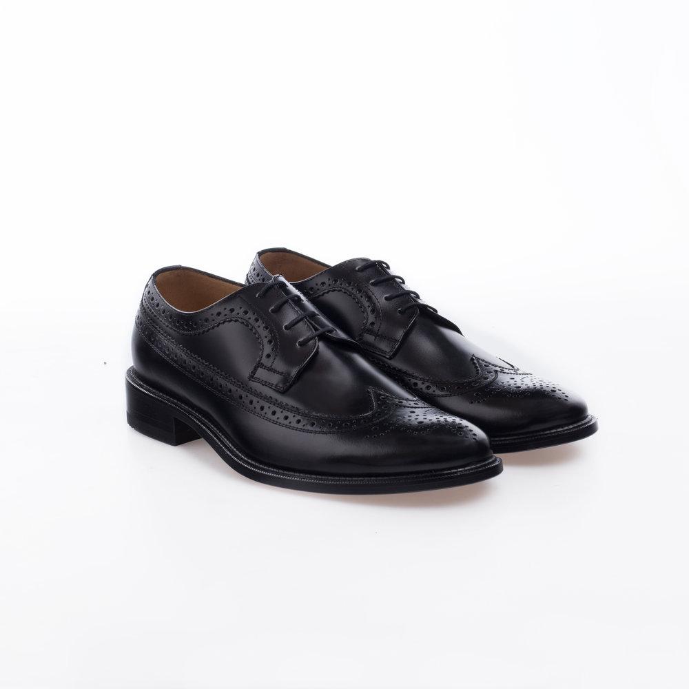 6004 Negro $1,399 MX Zapato Derby Full Brogue.