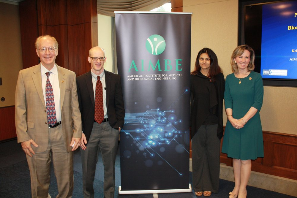 Professor Nimmi Ramanujam gives talk at AIMBE conference in Washington (Sept. 2016)