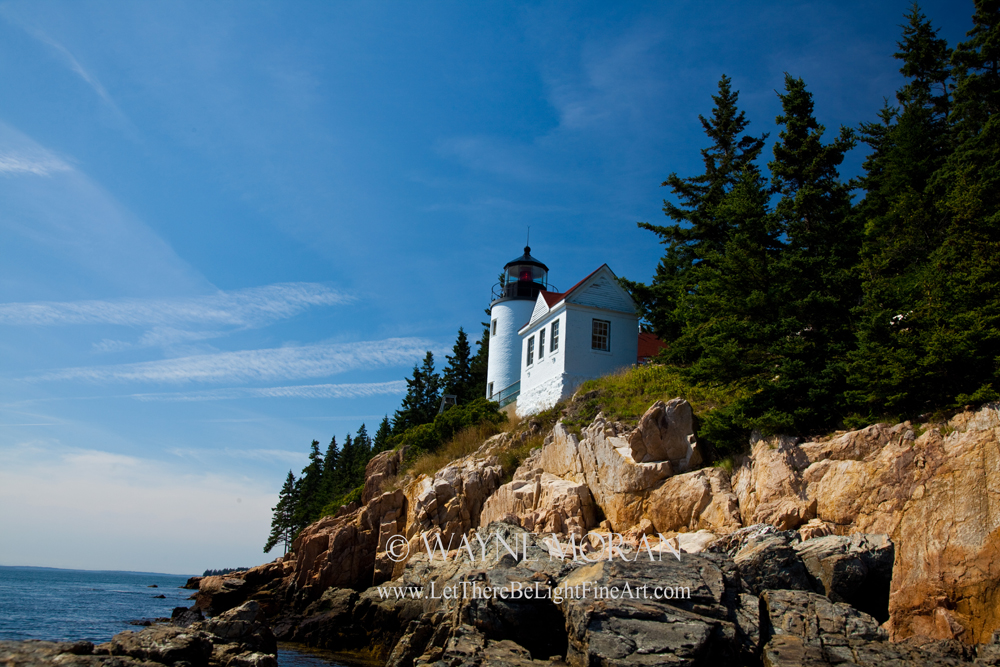 Bass Head Lighthouse Acadia National Park Maine