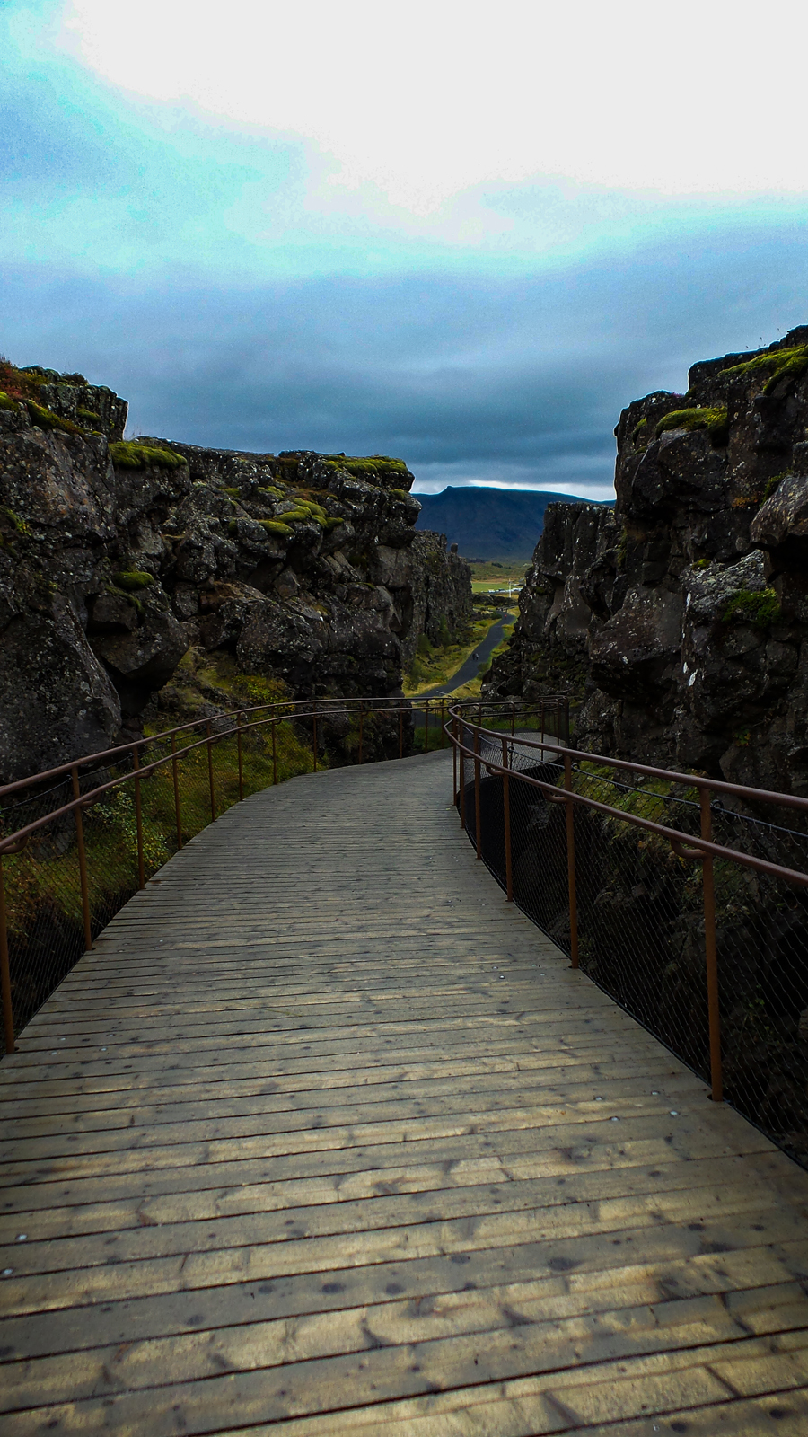 Walk between the tectonic plates at Pingvellir National Park