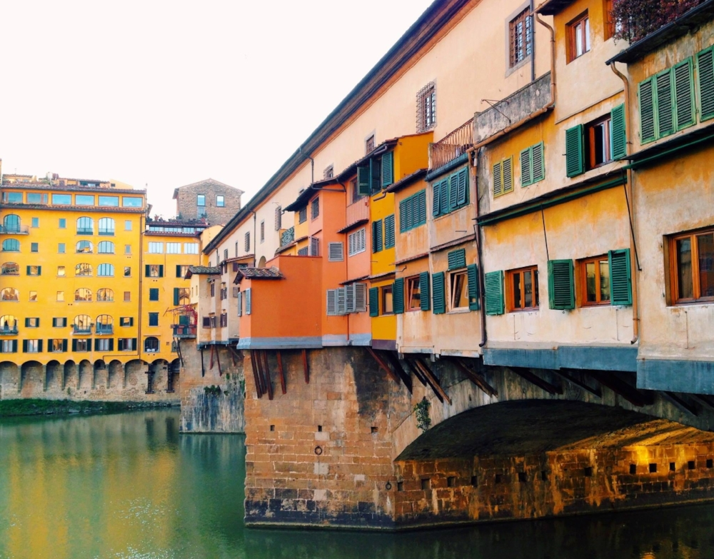 Bridge over Arno River in Florence*