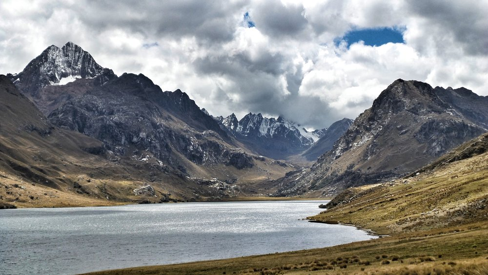 Mountains in Ancash Province Peru
