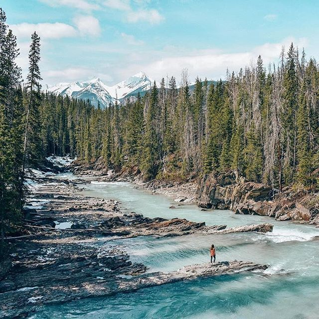 Amazingness from @thefrenchbubble -  Canadian landscapes are world famous, and this is why! Sceneries are breathtaking 🍁This picture has been taken in Yoho National Park, in the Rocky Mountains 🏔 We couldn't visit all the places we wanted as some roads were closed because of the snow (it was still snowing 2 weeks ago!) ❄️ If you plan to visit British Colombia or Alberta, the best period is from end of June to end of September 🌲 .... .... Can you spot me in this pic? 🤔 .... .... AmazingTravelBeauty✦ ✪ A M A Z I N G T R A V E L B E A U T Y - BY @thefrenchbubble ✪ #ATB_thefrenchbubble ✪ Selected by @waynemoranmn ✦ C O N G R A T U L A T I O N S 🏆 ✦ Date: 5. 18. 18 ✦  Tag your best shots to ☛ #AmazingTravelBeauty ✦ ☛ Stop by the artist's feed for more wonderful pics. ֹ Enjoy more beautiful photos by visiting our friends's pages. ☛ @michaeldockhamphoto ☛ @tangotraci ☛ @travel.birdy_global ☛ @flyfreewildbyrd ☛ @abbyventure ☛ @geek_grl ☛ @beyondphotography_with_ash ☛ @betsyarmour ☛ @socialmediamax  meet our whole team at: https://www.amazingtravelbeauty.com/about/ . . . . #yohonationalpark #yohonationalparkbc #britishcolumbia #explorecanada #canada #lesvoyageuses #traveltagged #momentsofmine #backpackersintheworld #aglobetrottersdreams #igersofficial #thewanderingtourist #instravel #globellettavels #travelgirlsgo #thetravelwomen #girlaroundworld #girldiscoverers #femmetravel #travelgirldiary #shetravelz #iamtb #darlingplaces #explorerbabes #2018travelbossbabes  #travelgirls #yohopark #peoplewhoventure