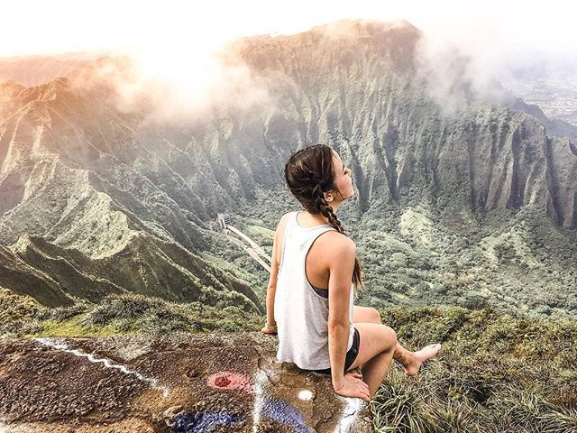 Amazingness from @anniepwanderlust -  If you have been following along my journey, you've probably known how much I'm obsessed with this hike 😆I did this hike twice, first time from the front road and the second time from the back road. ..... ✨Tips✨ The back road leads to Stairway to Heaven, it is called Moanalua Valley Trail. It is a difficult and long hike so make sure you bring plenty of water (a camel water bag is recommended) and have good hiking shoes. Do tons of research before you head to the hike as it's really easy to get lost in the jungle before you can find the actual trail. Keep left at all times and always search for the 'Middle Ridge trail' which will be written on the tree along with some silver tape (it's not noticeable at all so do look carefully). You will then cross a creek to enter the trail. **Note: If you ever enter the part where you see really tall grass that could cover you, you're in the wrong direction! Turn back and look for what I've mentioned above ..... ..... Have a fun adventure! 💗 . . . . AmazingTravelBeauty✦ ✪ A M A Z I N G T R A V E L B E A U T Y - BY @anniepwanderlust ✪ #ATB_anniepwanderlust ✪ Selected by @waynemoranmn ✦ C O N G R A T U L A T I O N S 🏆 ✦ Date: 5. 23. 18 ✦  Tag your best shots to ☛ #AmazingTravelBeauty ✦ ☛ Stop by the artist's feed for more wonderful pics. ֹ Enjoy more beautiful photos by visiting our friends's pages. ☛ @michaeldockhamphoto ☛ @tangotraci ☛ @travel.birdy_global ☛ @flyfreewildbyrd ☛ @abbyventure ☛ @geek_grl ☛ @beyondphotography_with_ash ☛ @betsyarmour ☛ @socialmediamax  meet our whole team at: https://www.amazingtravelbeauty.com/about/ . #hawaii #stairwaytoheaven #mindthemountains  #travellingthroughtheworld  #travelblogger  #gooutside  #exploretheworld  #exploremore  #speechlessplaces