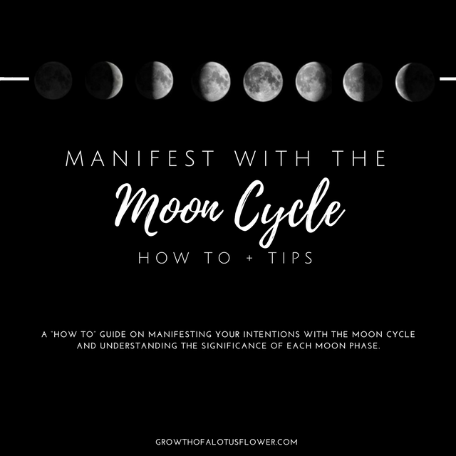 A Guide To Help You Manifest Your Intentions With The Moon