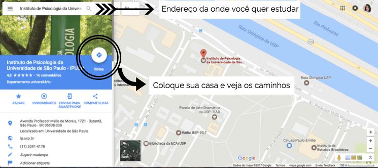 Abra o  Google Maps para pesquisar um endereço