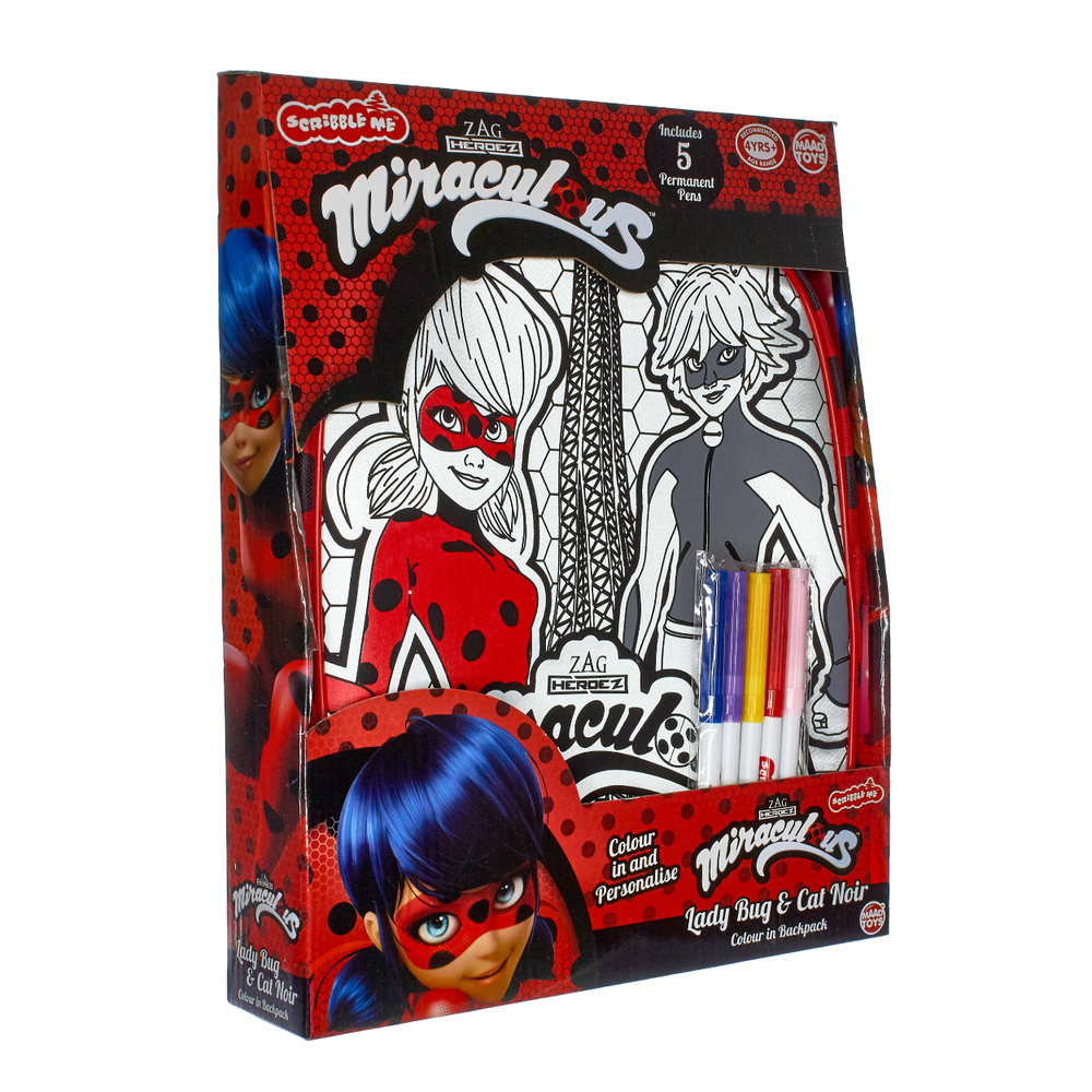 Miraculous Back Pack Packaging