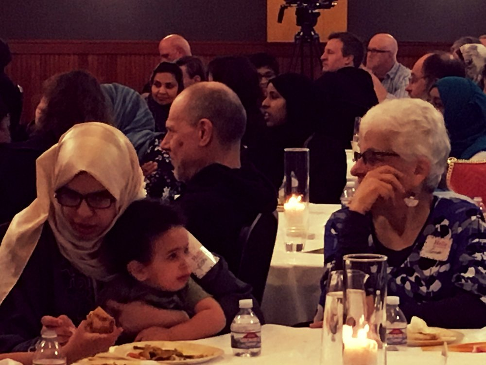 Eat With Muslims Anniversary Dinner April 27, 2018