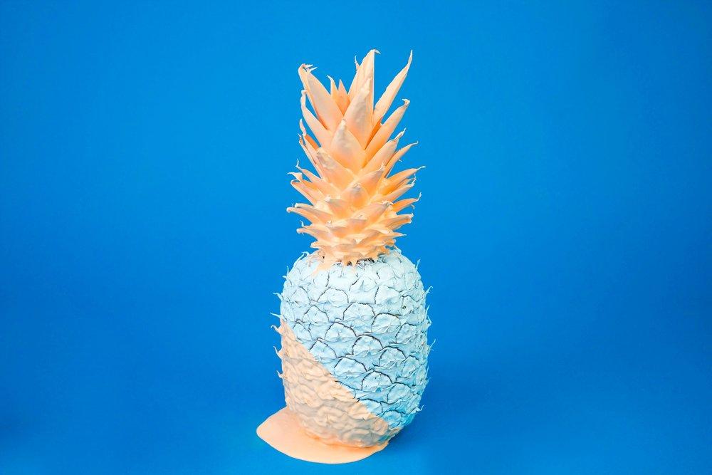 painted pineapple - blue .jpg