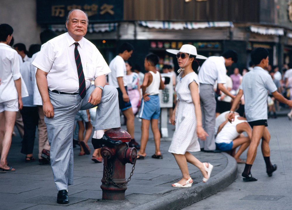 Shanghai, China - June 1988. Shen Beizhang has been director of MOFERT since 1986. Representing the city government, he is in charge of Shanghai's international trading.