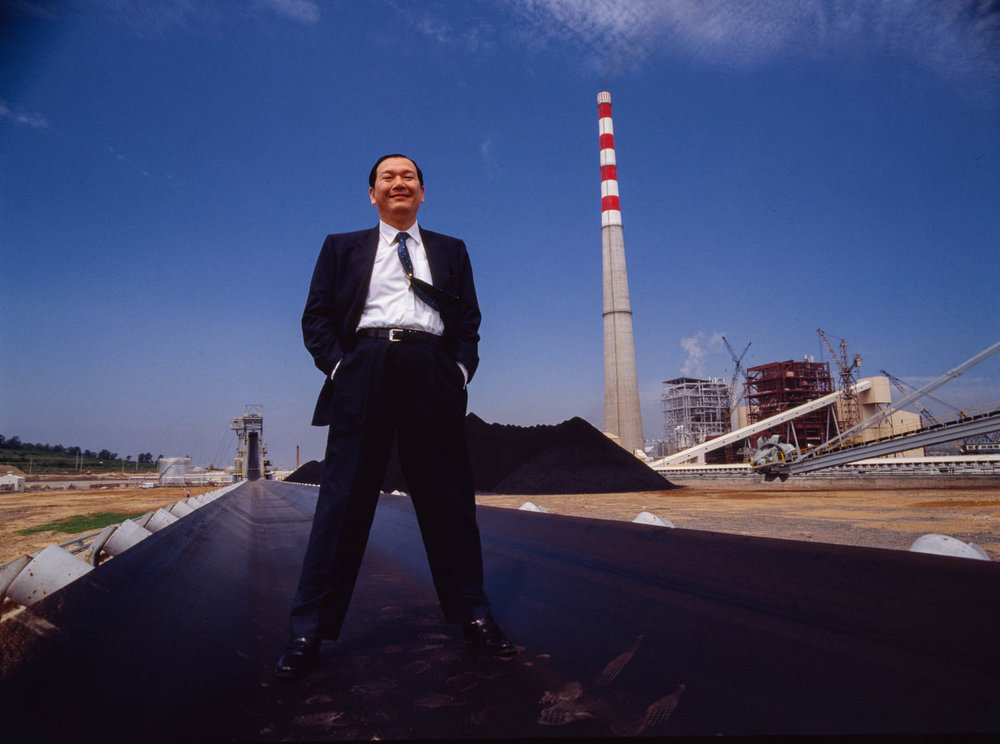 Shanghai, China - June 1988. In 1985 Wang Defang became CEO of the Huaneng International Power Development Corporation.