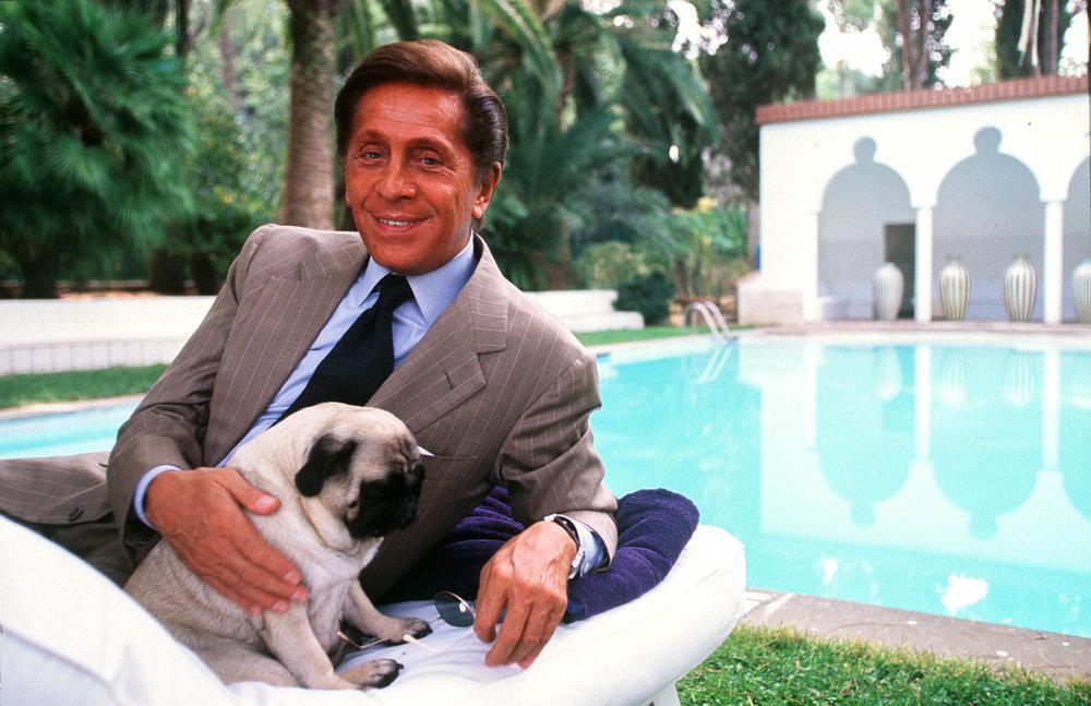Rome 29 September 200024h with the italian fashion stylist Valentino Garavani.© GIANNI GIANSANTI