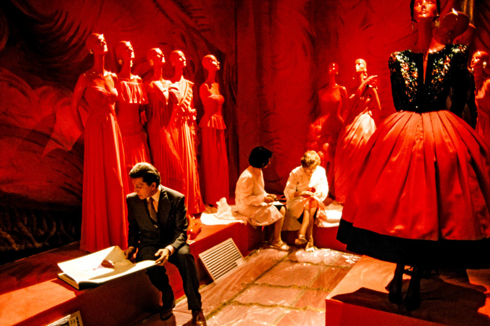 Rome, Italy - 28 May 1991Fashion designer Valentino, whose real name is Valentino Garavani, prepares the exhibition celebrating his 30-year career. © Gianni Giansanti