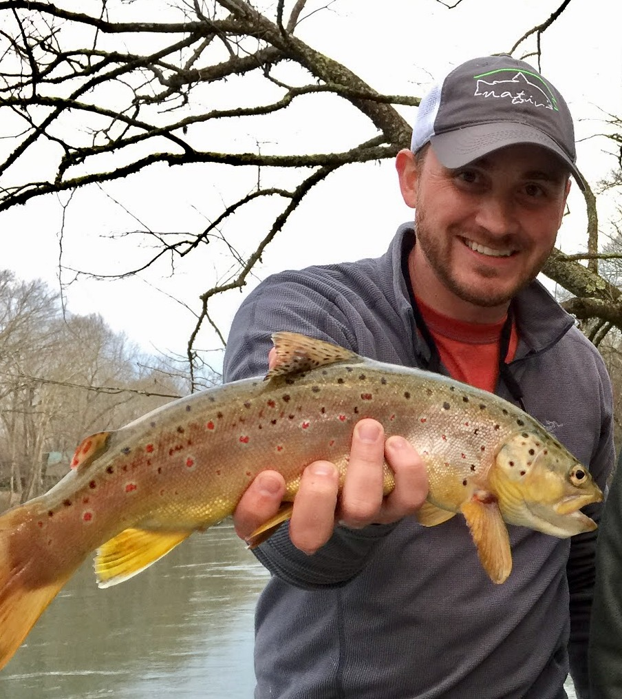 Nick Grisham  Conway, Arkansas  Nick has a BS in Medical Technology and currently serves as a Regional Operations Director for his company.  He is an avid golfer and over the last several years has become quite obsessed with fly fishing.  His first experience with a fly rod occurred in 2014 and he has not looked back.  When not on the water or the golf course, he enjoys tying new flies (even though he may not know their names or what they are supposed to imitate), traveling and spending time with his 2 boxers.  The Mayfly Project is the perfect platform for him to teach kids his passion of fly fishing and the outdoors while also allowing him to offer advice on life experiences at the same time.