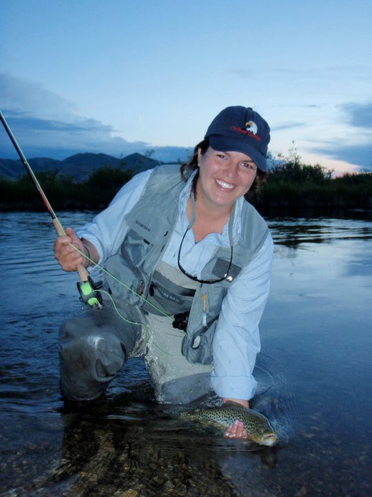 Kristina Duff Denver, Colorado Kristina is originally from Delaware and started fly fishing about seven years ago. Since then, she has worked throughout the U.S. and enjoys exploring new places with a fly rod in hand. As a professional forester and former rafting guide, Kristina is excited to share her love of fishing and the outdoors with the Mayfly Project kids.
