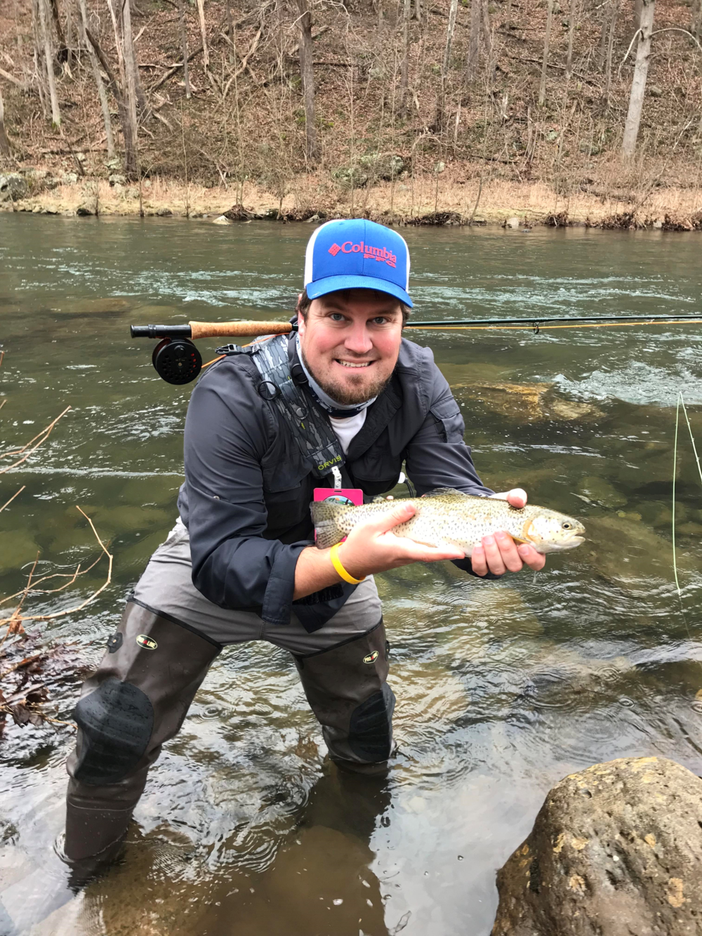 Zachary Smith   I live in Southwestern, VA and have lived here most of my life. Fishing and outdoors has been a passion of mine since I was little. I have fished for most of my life. I started fly fishing over five years ago and fly tying over a year ago. I love being outdoors and fishing is just one of the many activities that I love and have a passion for in the outdoors. It is a way for me to get out and relax at the end of day and be in nature. I am currently an Attorney because I have to pay for all of my hobbies including being an avid fisherman. I have worked with many foster children in the Court systems and look forward to sharing the love of fishing with them.