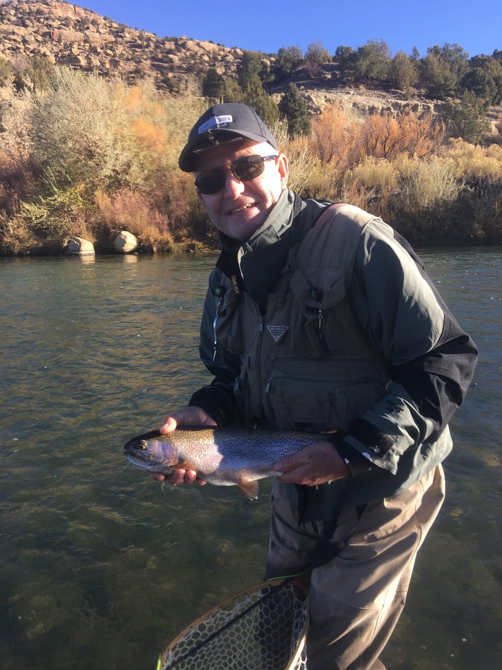 Britt Donaldson  Britt Donaldson grew up in New Mexico and started fly fishing around 1980. Most of Britt's fly fishing experiences have taken place on the San Juan river in northern New Mexico. Britt worked with Big Brothers/Big Sisters in New Mexico while he was employed in the banking industry. Through that experience, he developed a desire to work with disadvantaged children. Britt looks forward to sharing his fly fishing skills with young people participating in the Mayfly Project.