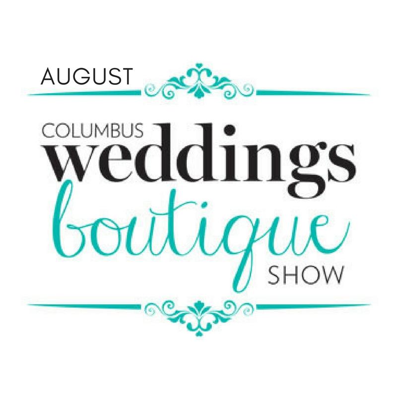 August Columbus Weddings Boutique Show