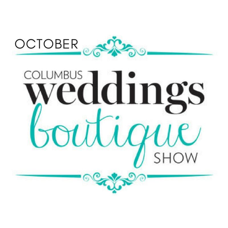 October Columbus Weddings Boutique Show