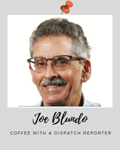 Columbus Dispatch Reporter Joe Blundo