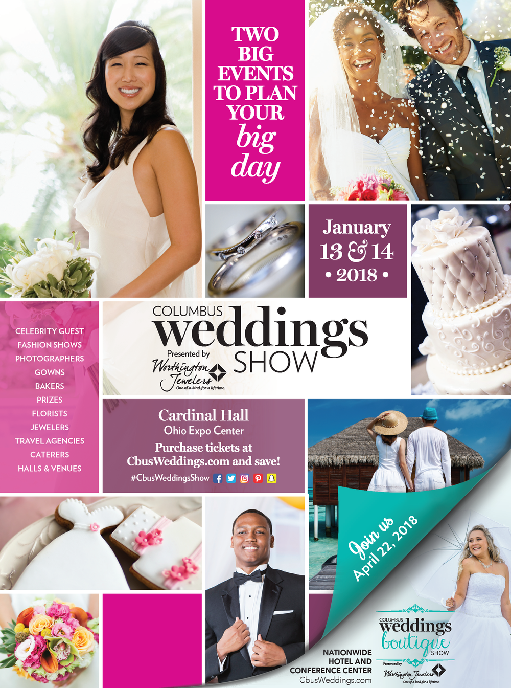 wedding magazine advertisement