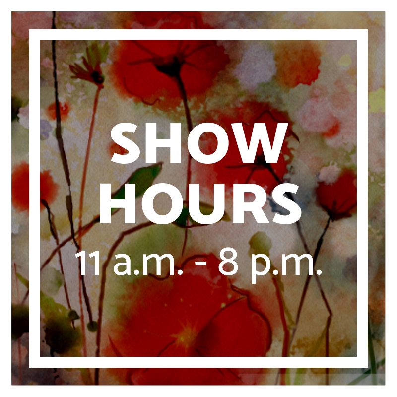 Friday hours for home and garden show