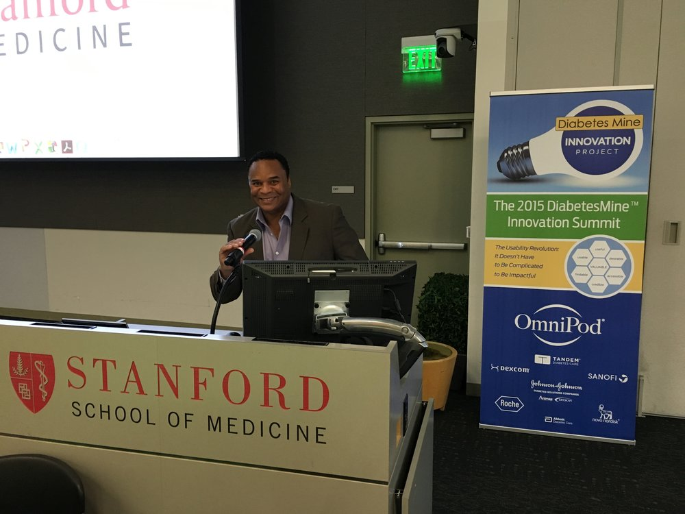 Selected Patient Health Educator for Diabetes Mine Summit at Stanford University