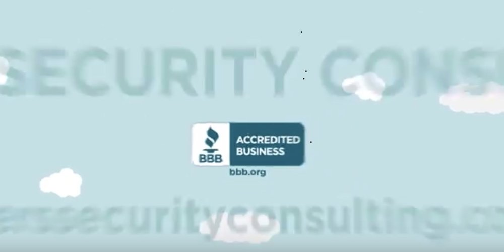 See Better Business Bureau give Byers Security Consulting an A+ (above)