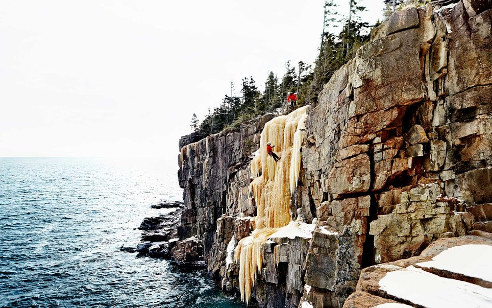 Granite cliffs piercing the sea and the sky are Acadia National Park's most recognizable feature. Located right next to the bustling New England town of Bar Harbor, Acadia has a rugged seashore, great rock climbing opportunities, and more than enough hiking, camping, and paddling to go around.