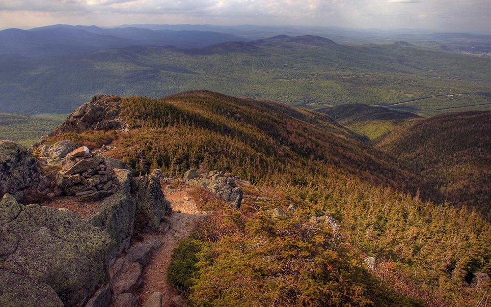 While this National Scenic Trail traverses over 2,180 miles of terrain between Georgia and Maine, some of the most beautiful stretches can be found in New Hampshire's White Mountains.