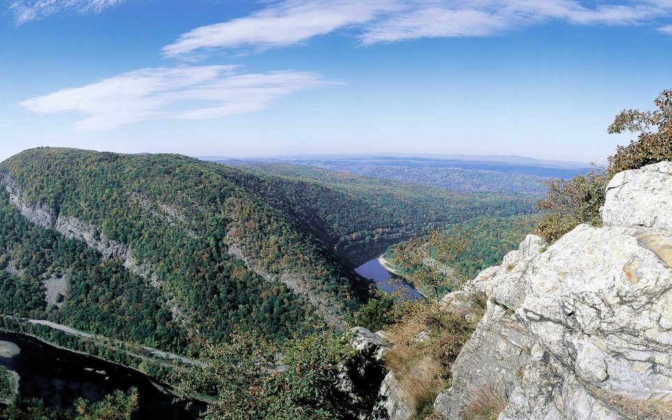 But The Garden State is also home to the Delaware Water Gap National Recreation Area, which contains 70,000 acres of streams, waterfalls, forests, and a stretch of the Delaware Rive.