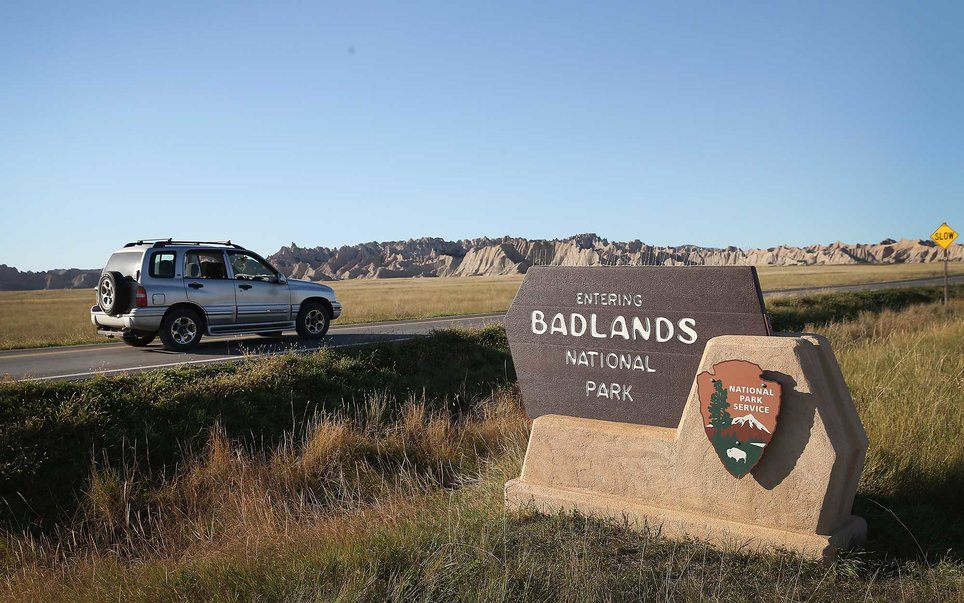 Punctuating the fairly flat state, the Badlands contain rock formations that have resulted from millions of years of deposition and erosion.