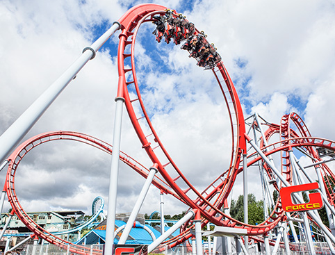 From tot-friendly rides to frenetic adrenaline-fuelled fun, Drayton Manor ticks all the right family boxes.