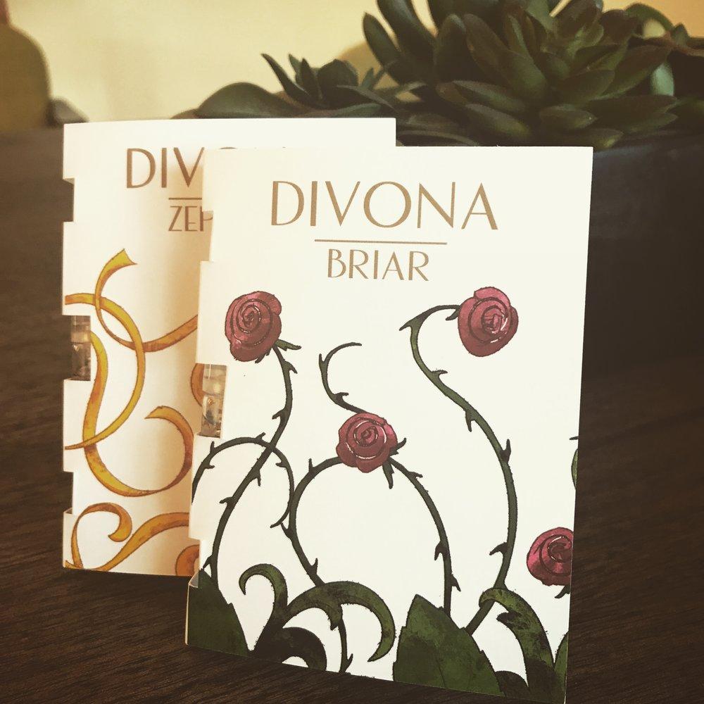 Cynthia Johnson's DIVONA giveaway