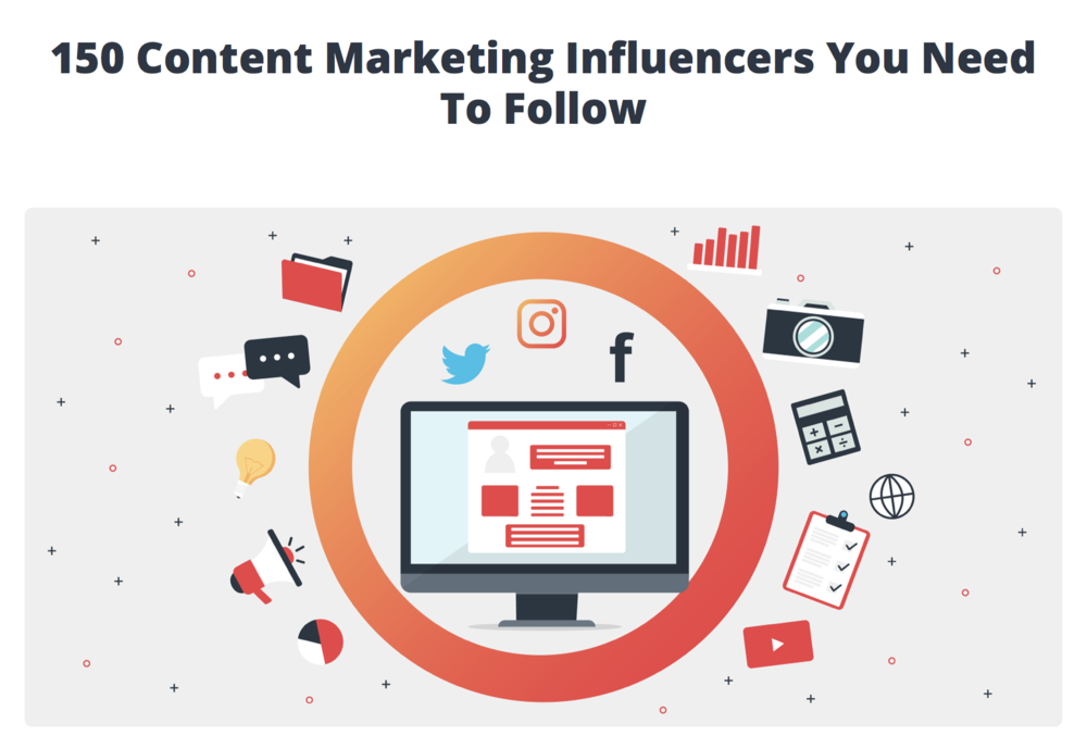 150 Content Marketing Influencers You Need To Follow - ATOMIC REACH