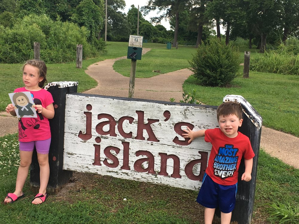Jack's Island, New Bern, Nc with the Limrick's.