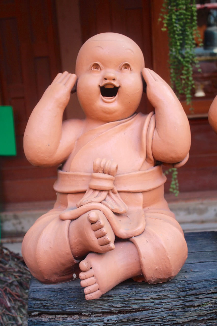 HAHA! I NO HEAR!
