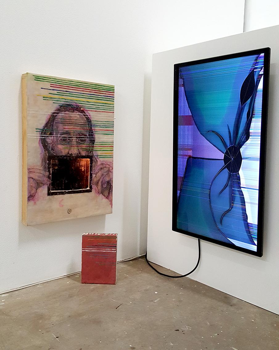 Matthew van Roden,  Smashing Times , 2016, installation.