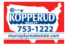 Principal Broker: Bill Kopperud 711 Main Street, Murray KY 270-753-1222 kopperud@murray-ky.net