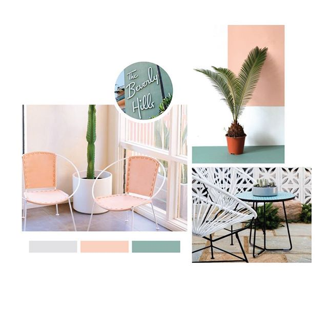 It's not often when pink makes its way into our color palettes but LOVE the Palm Springs vibes from this one. We ultimately went on a different direction but I could see this working well for a few different types of brands.