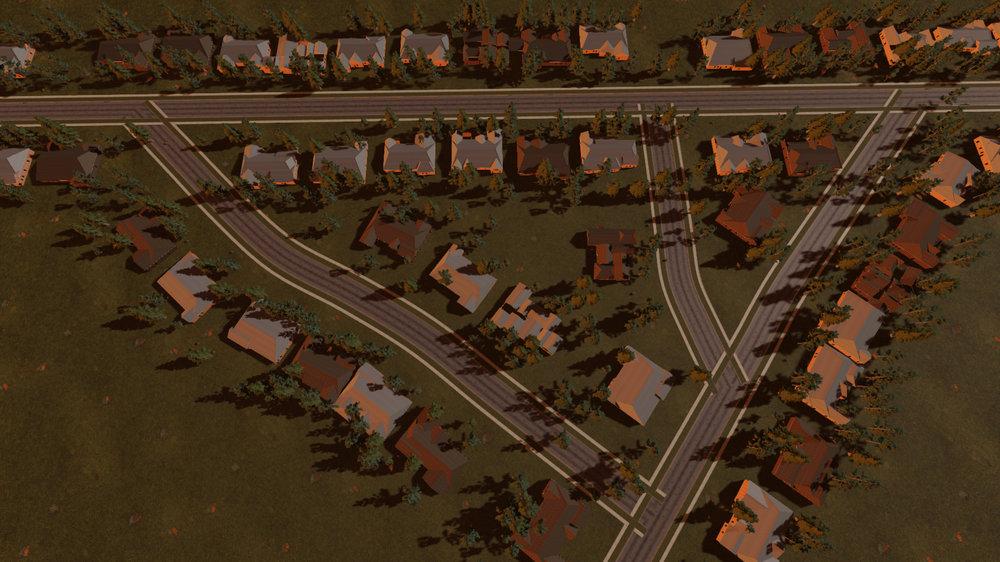 Procedurally Generated Neighborhood