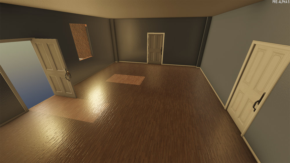 Procedural house interior lighting